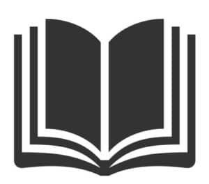 Large book icon