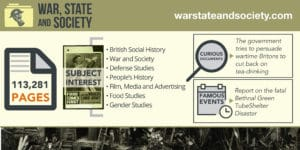 War, State and Society Infographic