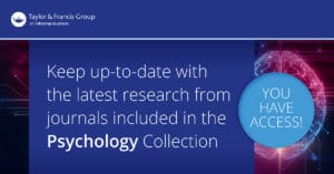Taylor & Francis Journal Collections Access Banner - Psychology