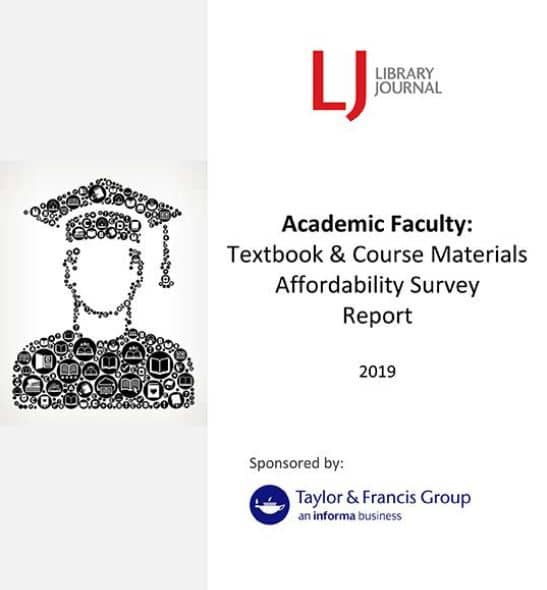 Textbook Affordability Faculty Perspective