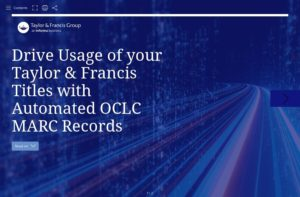 Drive Usage of your Taylor & Francis Titles with OCLC